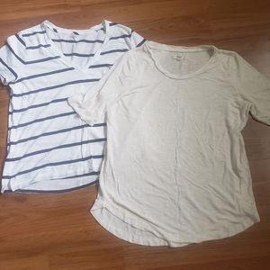🏵2 for $16 sale Madewell tshirt bundle